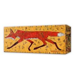 Metal Box Art Red Fox