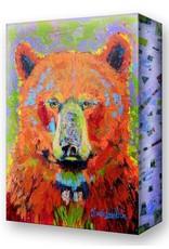 Metal Box Art Blaze Bear