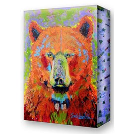 Metal Box Art Blaze Bear
