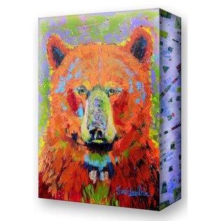 Metal Box Art Blaze Bear Metal Box Art