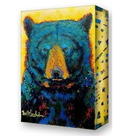 Metal Box Art Aurora Black Bear