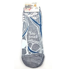 Blue Q Ankle Sock - You Smell Delicious
