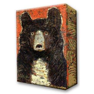 Metal Box Art Little Owl Bear