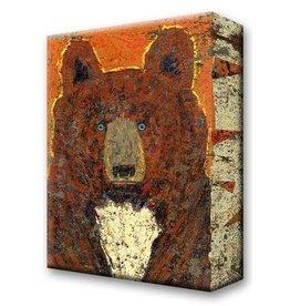 Metal Box Art Scout Brown Bear