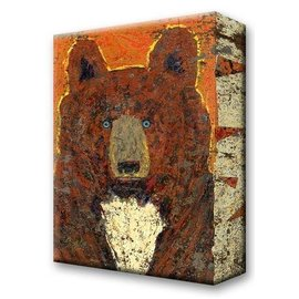 Metal Box Art Scout Brown Bear