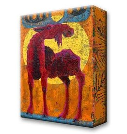 Metal Box Art Mr Sunshine Moose