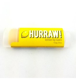 HURRAW! LEMON - single tube lip balm