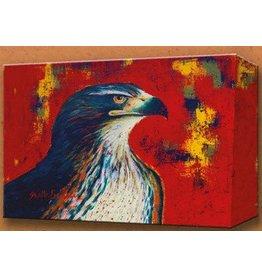 Metal Box Art Redtail