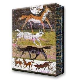 Metal Box Art Wanderlust Wild Animals