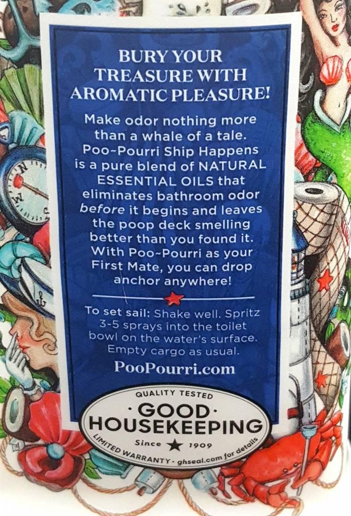 Poo-Pourri, Scentsible, LLC Ship Happens 2oz PooPourri Toilet Spray
