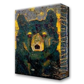 Metal Box Art Firefly Black Bear