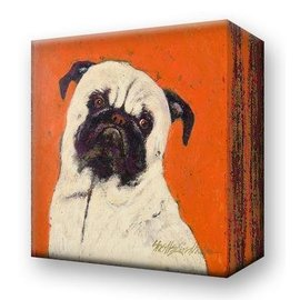 Metal Box Art Ziggy Pug