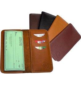 TLS Wallets Buffalo Leather Diplomat Roper Wallet - Special Order