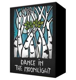 Metal Box Art Dance in the Moonlight