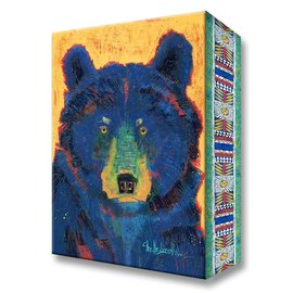 Metal Box Art Yogo Bear