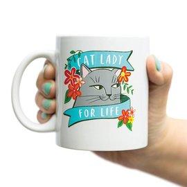 Emily McDowell Mug - CAT LADY FOR LIFE
