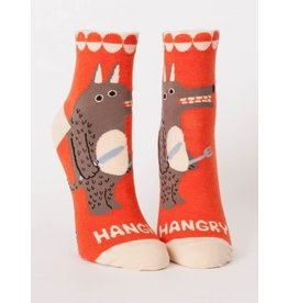 Blue Q Ankle Sock - Hangry
