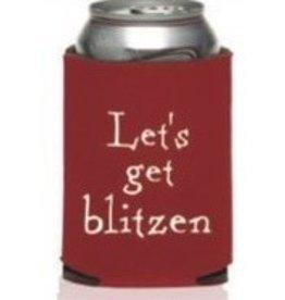 Let's Get Blitzen coozie