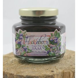 Huckleberry Haven Sugar Free Wild Huckleberry Jam, 5oz