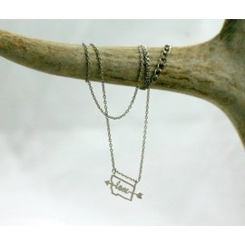 The Montana Way WITH MT IT IS LOVE NECK SILVER