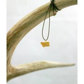 The Montana Way Simply Montana Necklace - gold