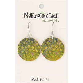 Nature Cast brook trout scales earring