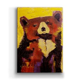 Metal Box Art Squash Bear