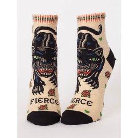 Blue Q Ankle Sock - fierce