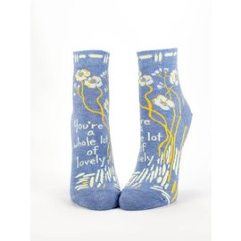Blue Q Ankle Sock - whole lot of lovely