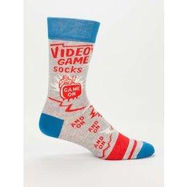 Blue Q Crew Sock - Video Game Socks