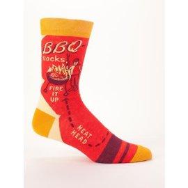 Blue Q Crew Sock - BBQ