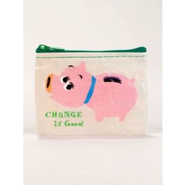 Blue Q Coin Purse - CHANGE IS GOOD