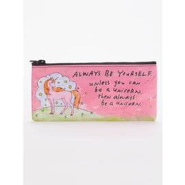 Blue Q PENCIL CASE - ALWAYS BE A UNICORN