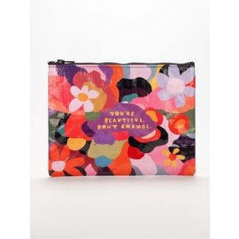 Blue Q Zipper Pouch - You're beautiful