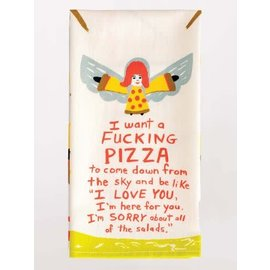 Blue Q Dishtowel - Fucking Pizza