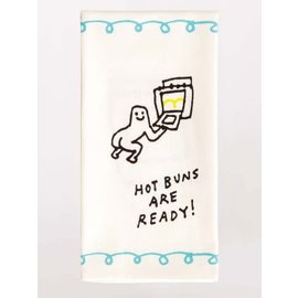 Blue Q Dishtowel - hot buns are ready