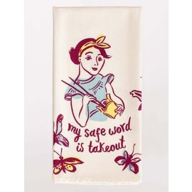 Blue Q Dishtowel - Safe word is takeout