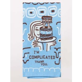 Blue Q DISHTOWEL - I'M COMPLICATED