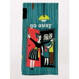Blue Q DISHTOWEL - GO AWAY