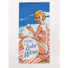 Blue Q DISHTOWEL - LAKE WINE