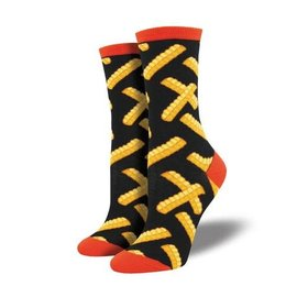 Socksmith CRINKLE CUT BLACK