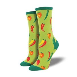 Socksmith A LITTLE CHILI GREEN