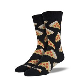 Socksmith PIZZA BLACK