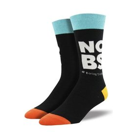 Socksmith NO BORING SOCKS MEN BLACK