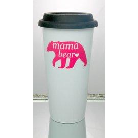Perfectly Imperfect Coffee Mug Mama Bear Pink