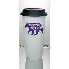 Perfectly Imperfect Coffee Mug Mama Bear Purple