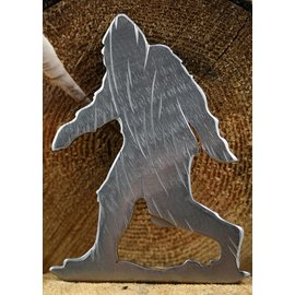 Blue Moose Metals Sasquatch Bottle Opener Silver color
