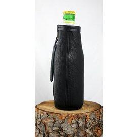 Red sky Designs Bison Beer Bottle Koozie Black