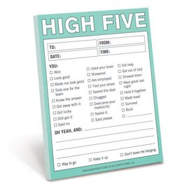Knock Knock Nifty Note: High-Five