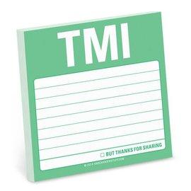 Knock Knock Sticky Note: TMI